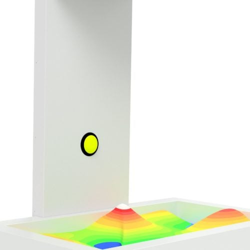 Augmented Reality Sandbox - Standard Model Button