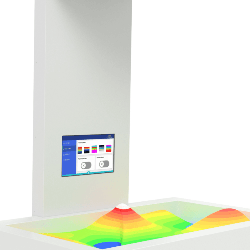 Augmented Reality Sanbox - Standard Model Touchscreen