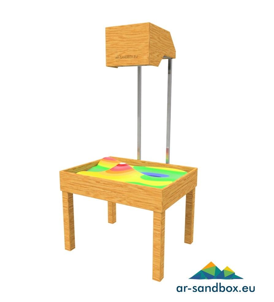 Augmented Reality Sandbox – Woodwork Model