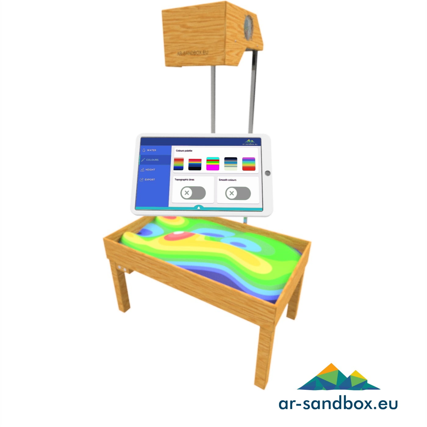 Augmented Reality Sandbox DIY